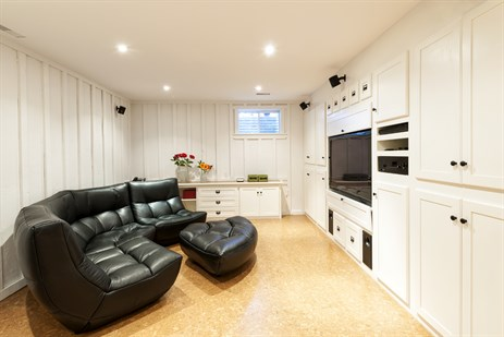 Basement in Home
