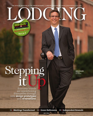 Lodging Magazine Cover