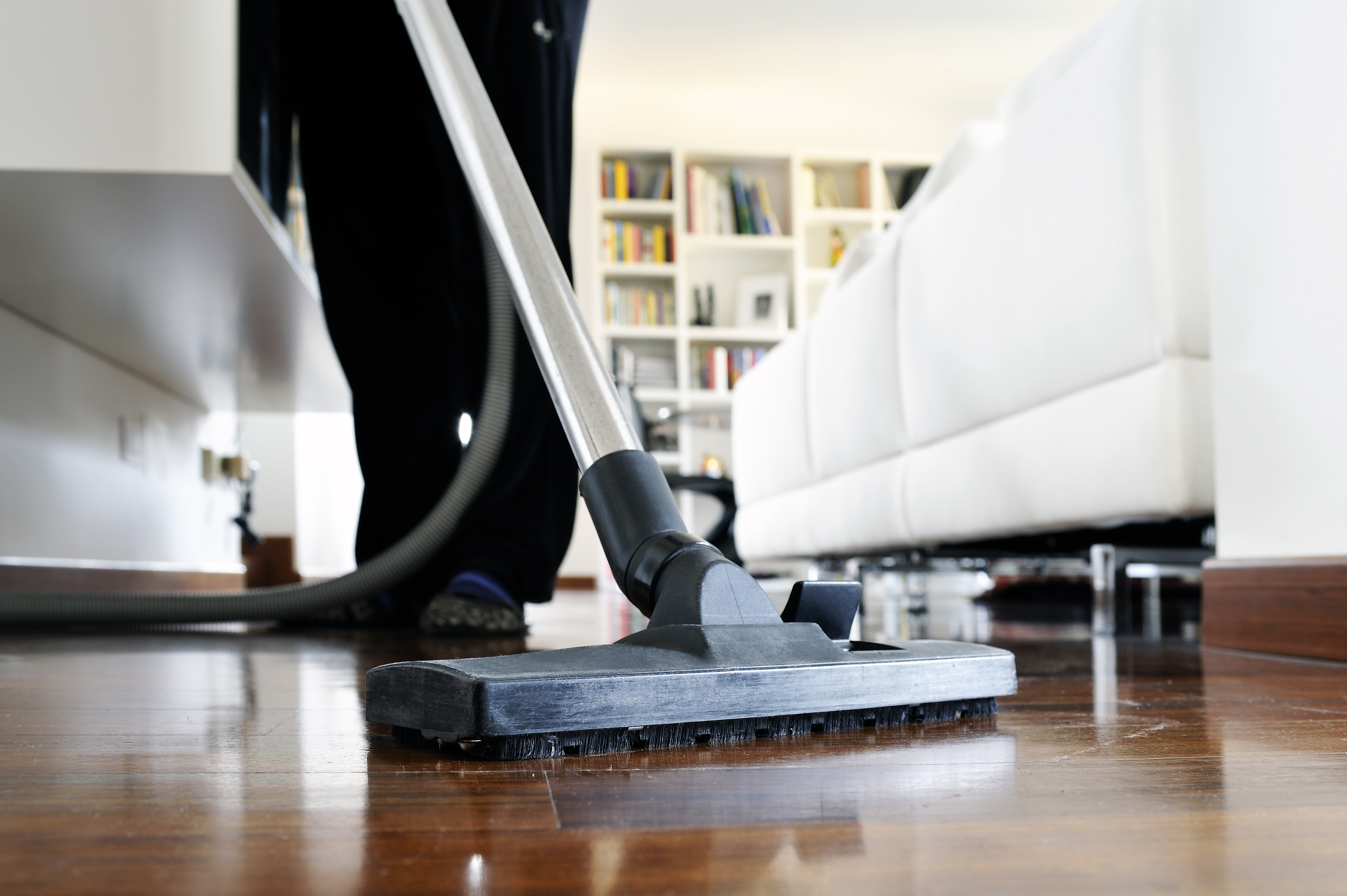 Vacuuming to eliminate indoor allergy triggers (1)