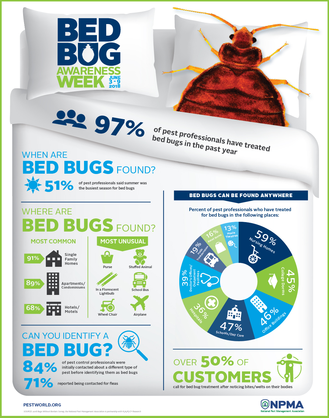 Fantastic Pest Control Pros See Summer Spike In Bed Bug Calls Interior Design Ideas Clesiryabchikinfo
